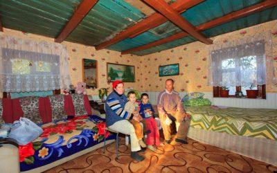 2016-10-07 Besuch Familie in Bocanceaschit