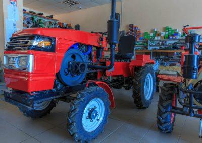 Minitraktor Luxuriöser