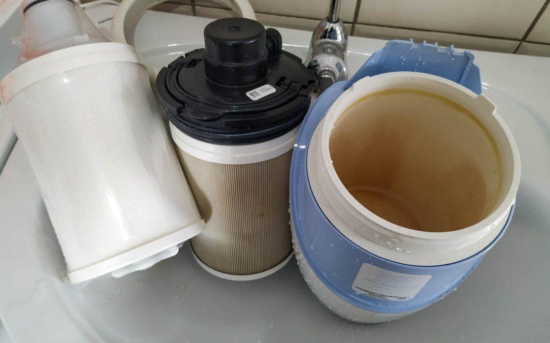 Wasserfilter Geliefert